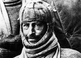 Sir Douglas Mawson in Antarctica