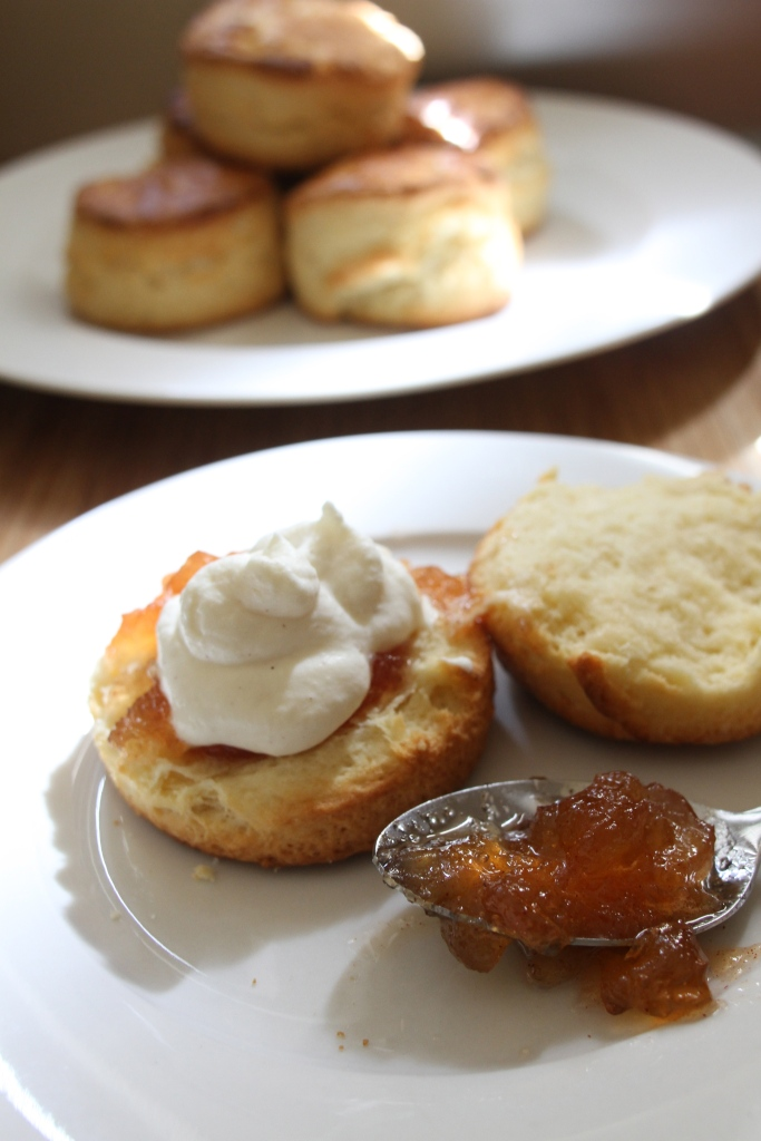 Scones & Apple Jam