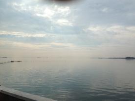 Venice is on the horizon