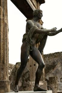 A statue of Apollo