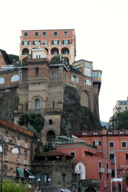 Some buildings in Sorrento