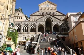 The church in Amalfi
