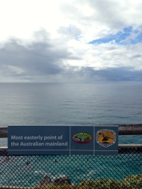 The most eastern point of Australia