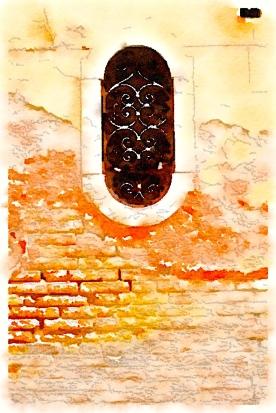 Beautiful bricks, Venice