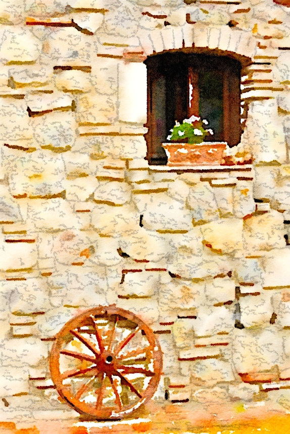 Wheel, The Fattoria at San Gimignano