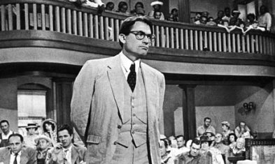 6. Atticus Finch, from 'To Kill A Mockingbird' by Harper Lee