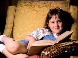 9. Matilda Wormwood, from 'Matilda' by Roald Dahl