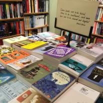 Book display in Hatchards