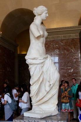Aphrodite, known as the Venus de Milo